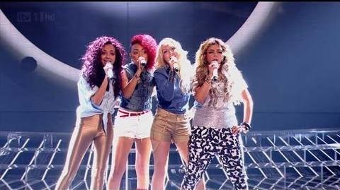 Rhythmix are an urban fantastic four - The X Factor 2011 Live Show 1 - itv
