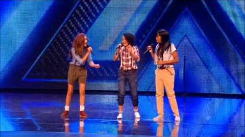 Faux Pas and Orion X Factor auditions (Little Mix)