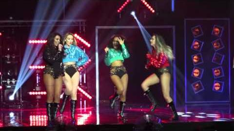 Little Mix - How Ya Doin'? Hotline Bling - Get Weird Tour - at the BIC, Bournemouth on 15 03 2016