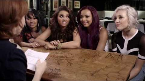 Little mix @ The Hot Desk