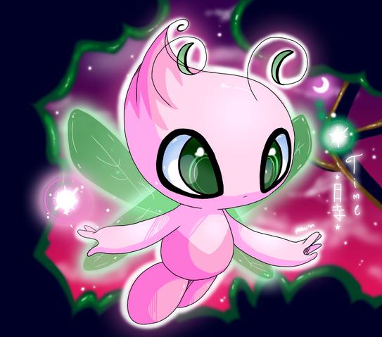 File:KP The Shiny Celebi by pokemonloverforev.png