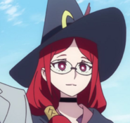 Chariot-Ursula smiling