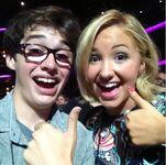 Joey with Aubrey