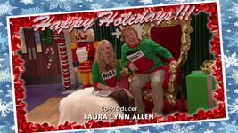 Liv and Artie Christmas Photos Joy To-A-Rooney 1