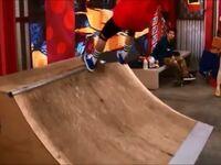 Miller skateboarding