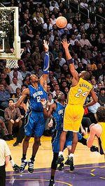 Dwight basketball game