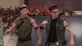 Josh & Joey as Max & Jax