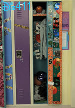 Maddie's locker