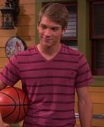 Josh with Basketball