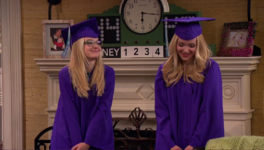 Liv and Maddie Have Graduated