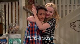 Liv Hugs Parker
