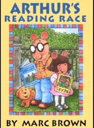 Living Books - Titles-Arthur's Reading Race.