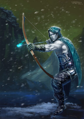 Elven archer 2 0 by phomax-d2xw51t