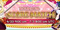 Score Match Round 26