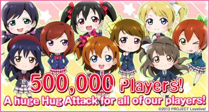 500k Users