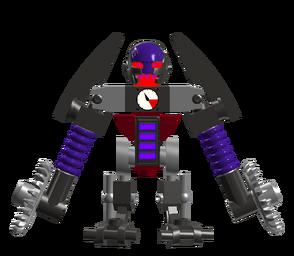 Cyborg Stormling saw trooper