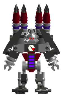 Cyborg Stormling rocket trooper