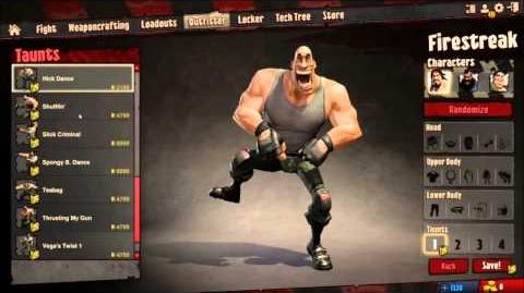 Loadout All Character Taunts HD