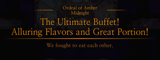 Amber Midnight The Ultimate Buffet Message