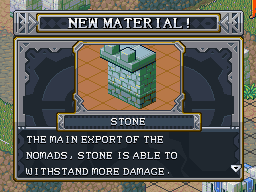 New material stone