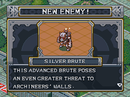 New enemy silver brute