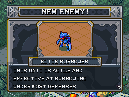 New enemy elite burrower