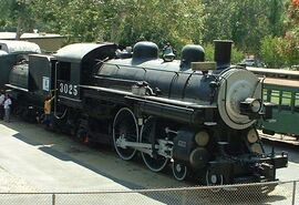 Southern Pacific Class A-3 4-4-2 -3025