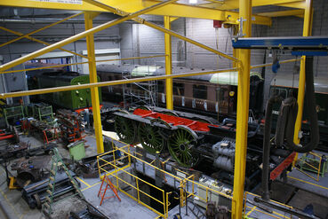 4472 Flying Scotsman and 60163 Tornado at the NRM