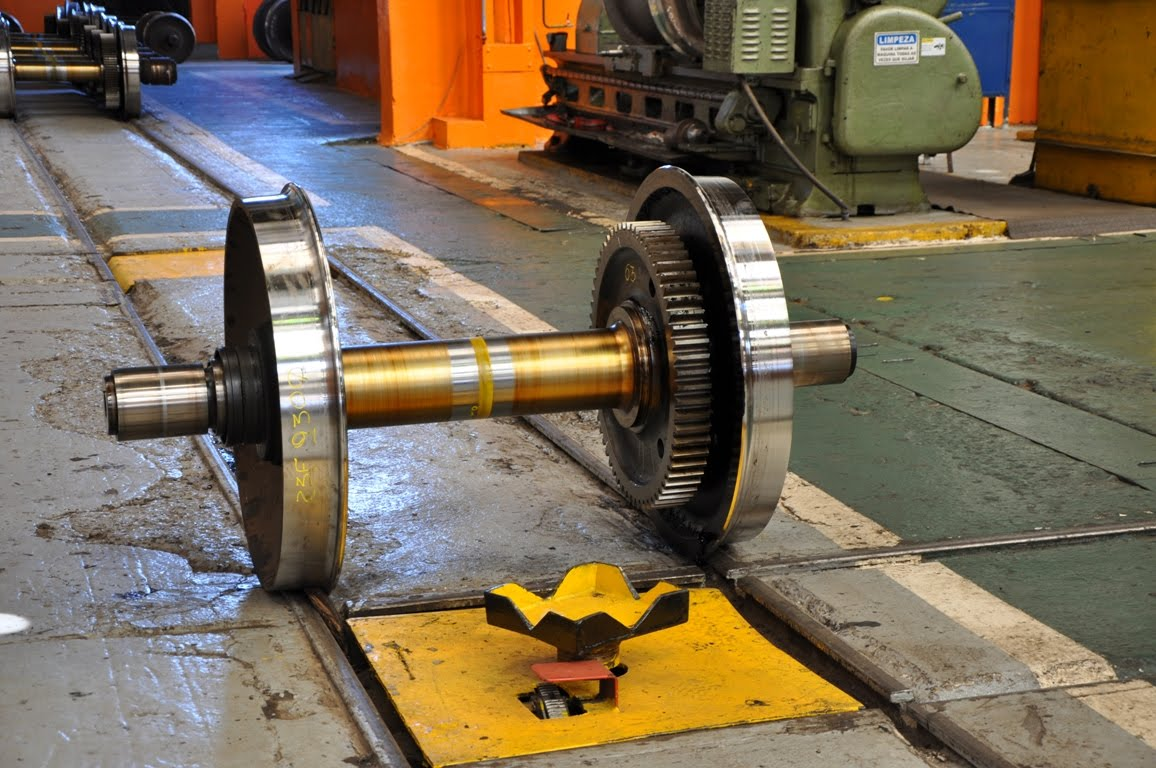 Axal And Wheel : Diesel locomotive wheel axle wiki fandom