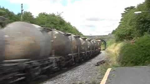 124 & 134 on cement train @ Thomastown (5-8-06)