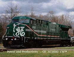 GE AC6000CW Demonstrator