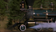 Smokebox steam train