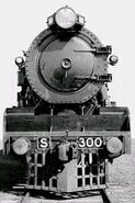 Victorian Railways S-300 locomotive
