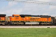 BNSF H3 SD70MAC 2
