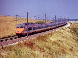 TGV Train à Grande Vitesse SNCF TGV Sud-Est