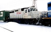 KCS-painted CP SD40-2