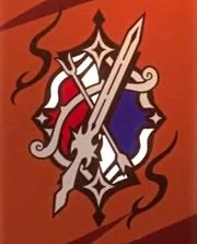 Silver sword symbol