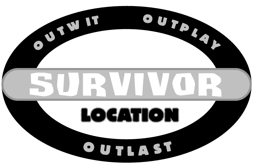 Blank survivor logo template