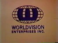 WorldVision Enterprises Inc Logo 1973 c