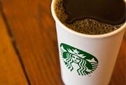 Starbucks coffee cup 2011
