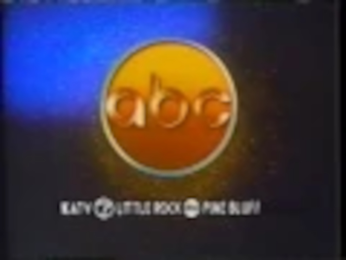 ABC-TV's Video ID With KATV-TV Little Rock-Pine Bluff Byline From Late 1984