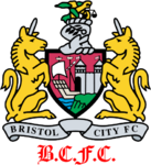 Bristol City FC logo (1997-1998, away)