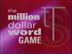 The Million Dollar Word Game