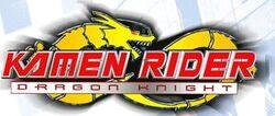 Kamen Rider Dragon Knight title card