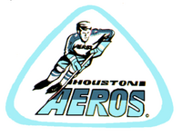 Houston Aeros (WHA) logo