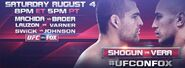 FOX Sports' UFC On FOX Video Promo -2 For Saturday Night, August 4, 2012