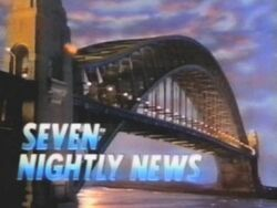 Seven nightly news a
