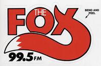 THE FOX 99-5 logo
