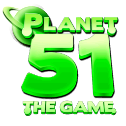 Planet 51 Video Game logo