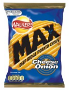 Walkers Max Cheese and Onion 2006